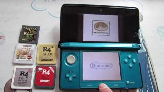 R4 Cards Alive on 3DS System Ver 11.2.0-35E