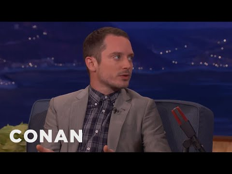 Elijah Wood Doesn't Age   CONAN on TBS