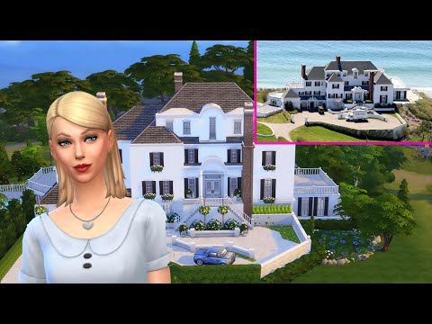The Sims 4 Celebrity Mansion Build - Taylor Swift Mansion Pa