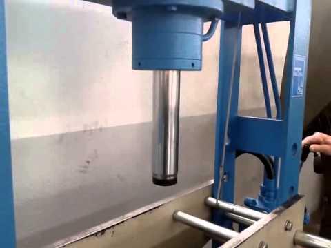 pressa oleodinamica omcn tipo 162w 50 ton youtube