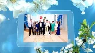 Весенний свадебный слайд.  Видео, фото свадеб Лабинск, Армавир, Майкоп 89282615604