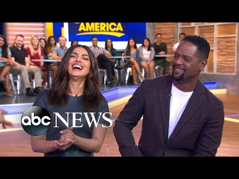Priyanka Chopra and Blair Underwood Talk 'Quantico' Premiere