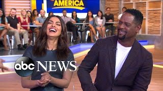 Priyanka Chopra and Blair Underwood Talk