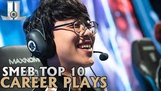 Smeb Top 10 Career Plays | Lol esports