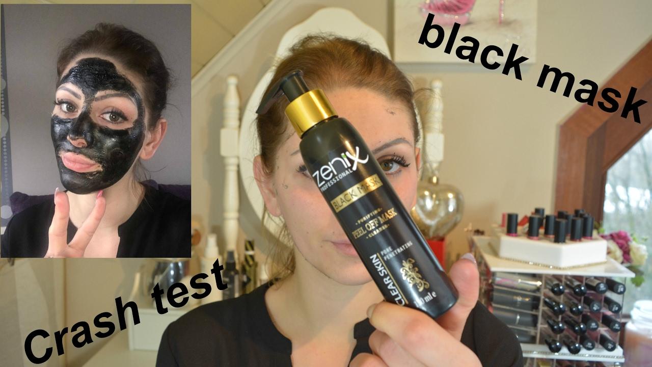 inégale en performance acheter pas cher design intemporel Masque noir anti points noirs (Crash test)
