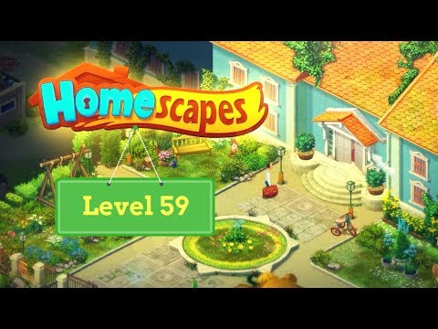 Homescapes Level 59 - How To Complete Level 59 On Homescapes