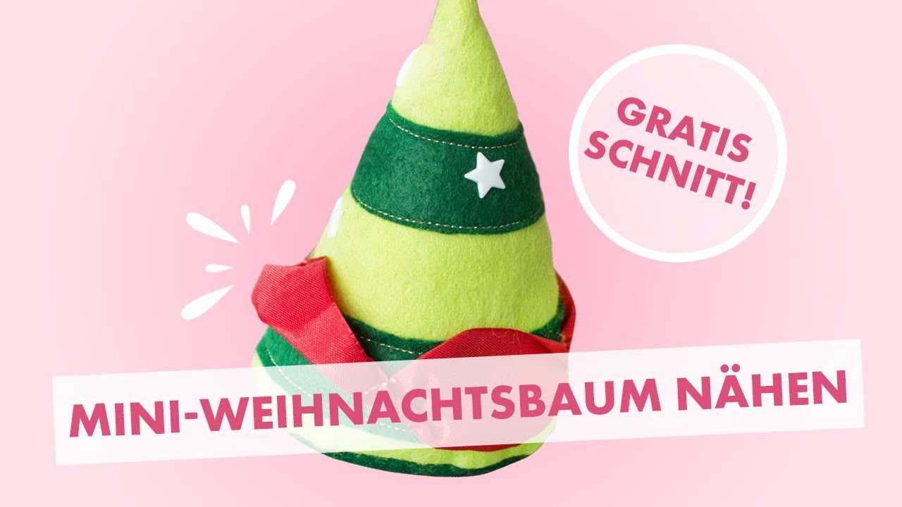 Diy Tutorial Nahanleitung Weihnachtsdeko Tannenbaum