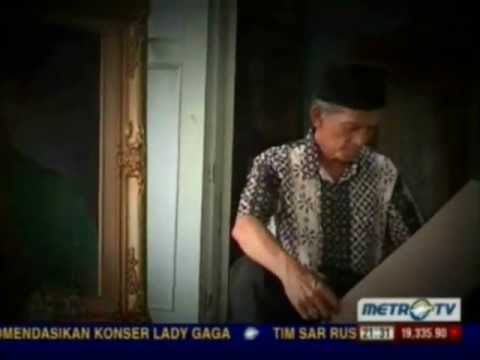 Eden Arifin Pelukis Sultan Mahmud Badaruddin II Part 1/4