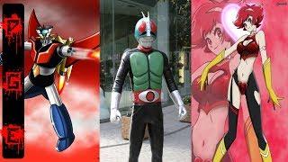 Los 10 superhéroes japoneses más famosos