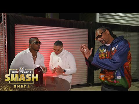 AEW Gin and Juice, Snoop Dogg is in the House | AEW New Year's Smash Night 1, 1/6/21
