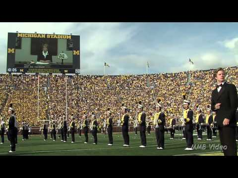 """James Bond in """"From Ann Arbor with Love"""" - August 31st, 2013 - The Michigan Marching Band"""