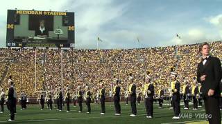 "James Bond in ""From Ann Arbor with Love"" - August 31st, 2013 - The Michigan Marching Band"