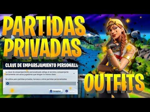 🔴!PARTIDAS PRIVADAS FORTNITE OUTFIT EN DIRECTO AHORA! | Fortnite Battle Royale