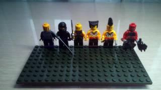 Лего бой с тенью 2