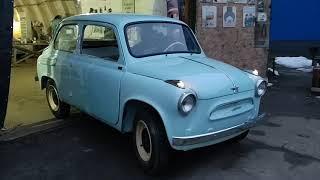 ЗАЗ 965 , 1960 года выпуска.  Первые метры