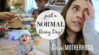 Zapętlaj REAL LIFE DAY IN THE LIFE MOM BABY & TODDLER // RAW MOTHERHOOD + TODDLER ACTIVITIES | Justine Marie