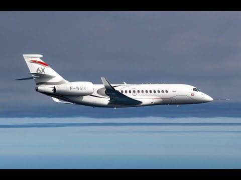 Falcon 6X Completes Maiden Flight