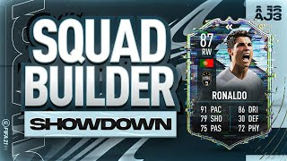 Fifa 21 Squad Builder Showdown!!! FLASHBACK CRISTIANO RONALDO!!!