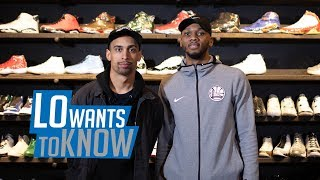 Lo Wants to Know: Sneaker shopping with Warriors' Alfonzo McKinnie