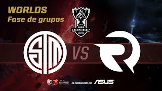 TSM vs OG - Worlds Día 7 Grupos - Mundiales League of Legends 2015 en Español