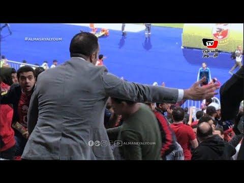 محمد سراج الدين: «جماهير الأهلي سبب الفوز على الترجي.. والبطولة لسه في الملعب»