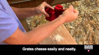 Kuhn Rikon Ratchet Grater (english)