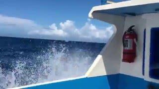 ANTAM speedboat transfer from Buli, Halmahera Timur, to Pulau Plun