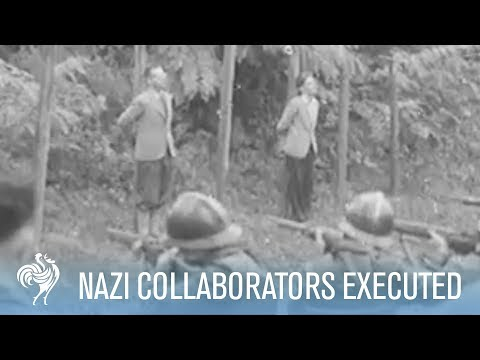 French Nazi Collaborators Are Tried & Executed | War Archives from YouTube · Duration:  59 seconds