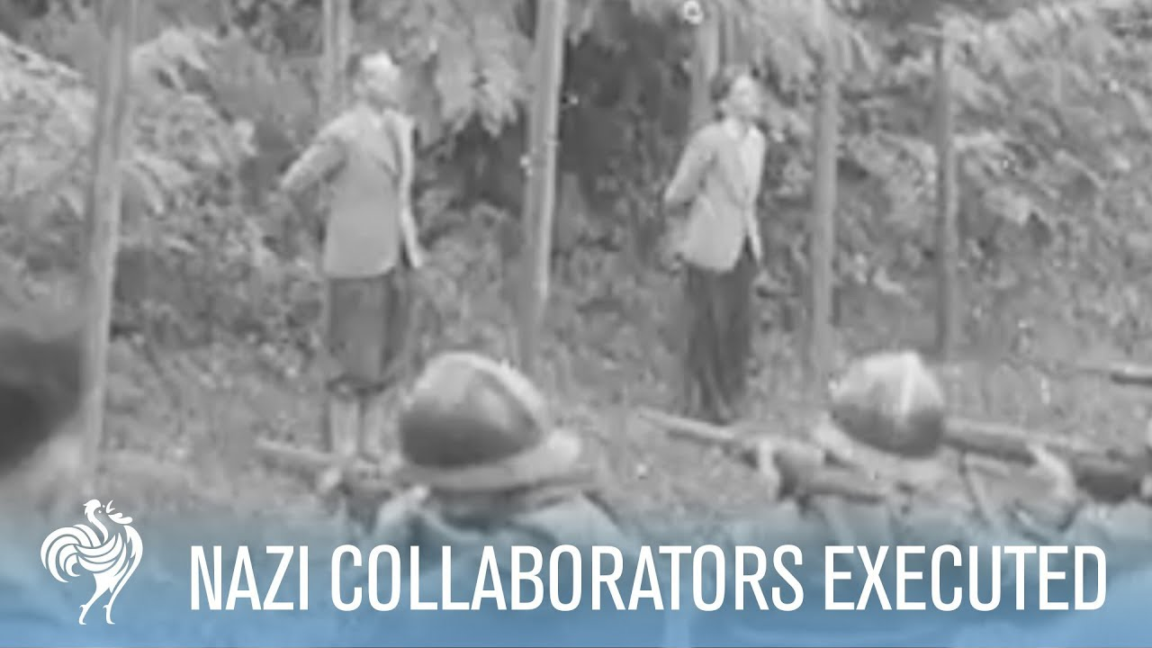 French Nazi Collaborators Are Tried & Executed | War Archives