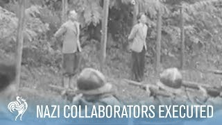 French Nazi Collaborators Tried and Executed
