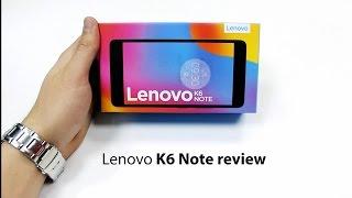 مراجعة لينوفو k6 note