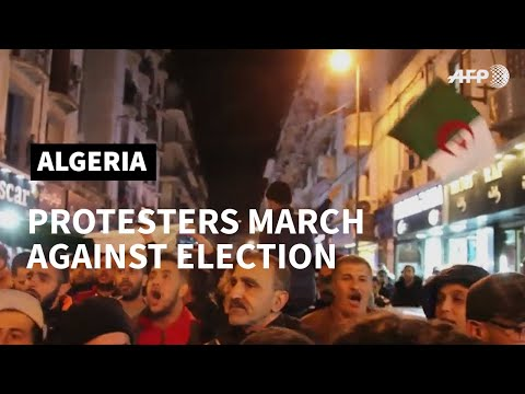 Algerians protest against presidential election | AFP