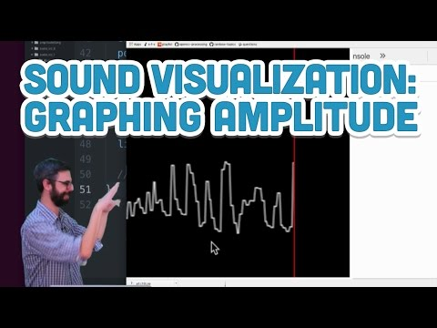 17.9: Sound Visualization: Graphing Amplitude - p5.js Sound Tutorial