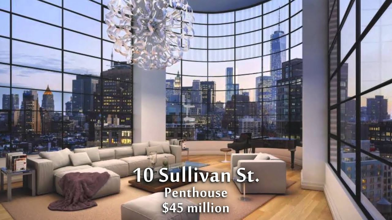New york city 39 s most expensive homes youtube for Expensive houses in new york