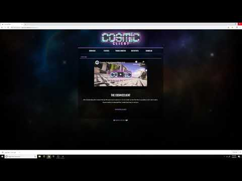 How To Install Cosmic Client 2019 Working Easy!