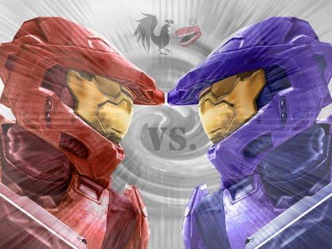 Война красных и синих