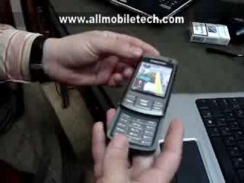 Prezentare video Samsung G810