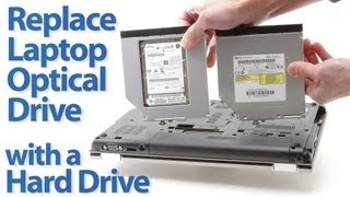 Replace a laptop's Optical Drive with a Hard Drive (Updated)
