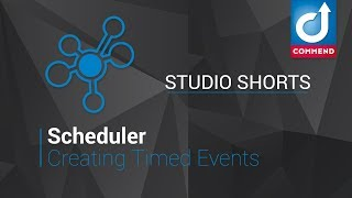 Studio Shorts - Creating Timed Events in Scheduler