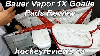 Bauer Vapor 1X Od1n Goalie Pad Review, One of the best pads on the market