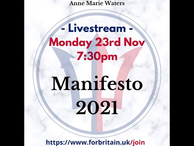 Post Conference Livestream // For Britain Live: 23rd November 2020