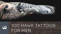 100 Hawk Tattoos For Men