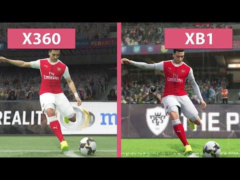 PES Pro Evolution Soccer 2017 – Xbox One vs. Xbox 360 Graphics Comparison (Demo)