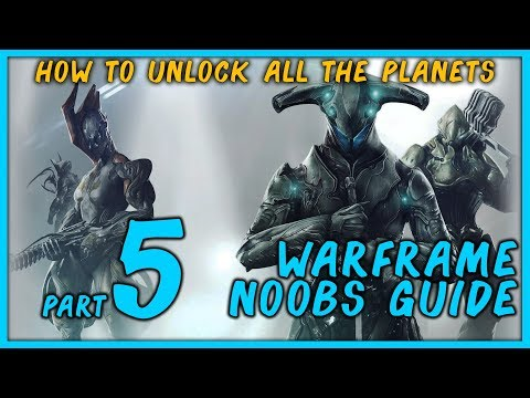 Warframe: How to Unlock Every Planet
