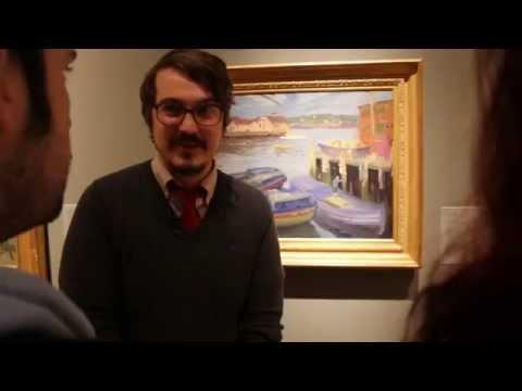 Comedians give tour of Portland Art Museum