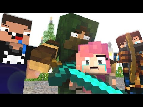 Bandits Life  Craftronix Minecraft Animation