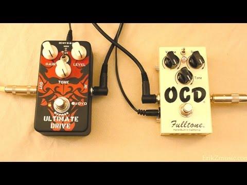Joyo Ultimate Drive vs Fulltone OCD