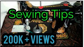 How to Clean A Sewing Machine And One Sewing Tip