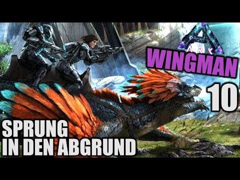Spring in den Abgrund - ARK WINGMAN ABERRATION - 10 - | Let's Play Deutsch (Speed PvP)