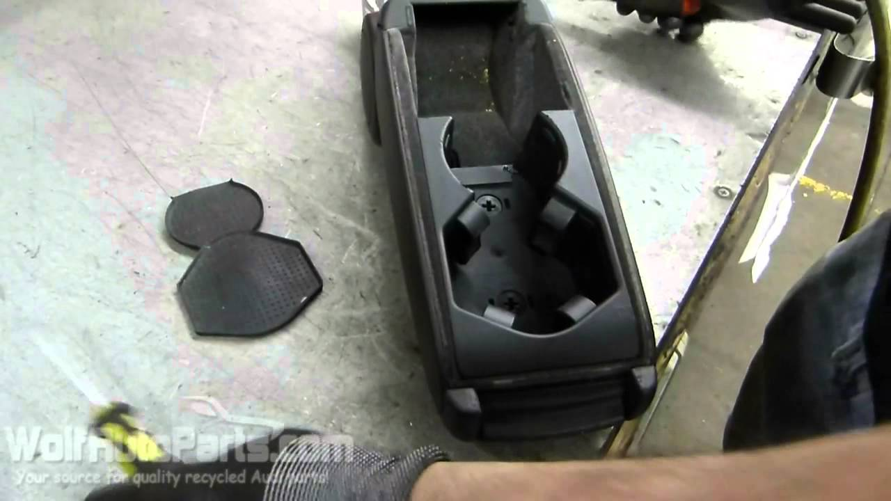How to Remove the Armrest Cup Holder - B6 Audi A4 2002 ...